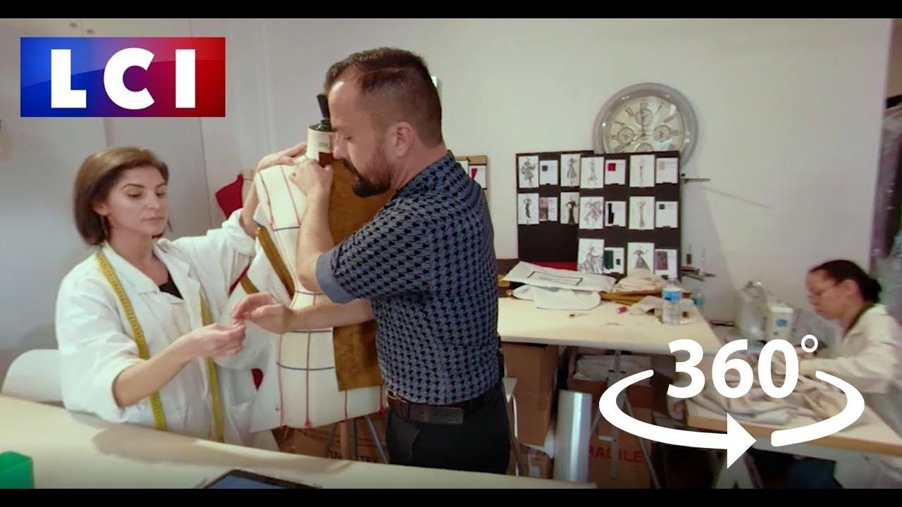 VIDÉO 360 - Dans l'atelier du styliste geek Julien Fournié