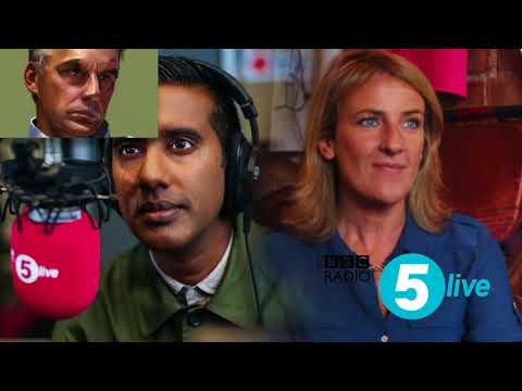 15 January 2018: Jordan Peterson interviewed on BBC Radio 5 Live