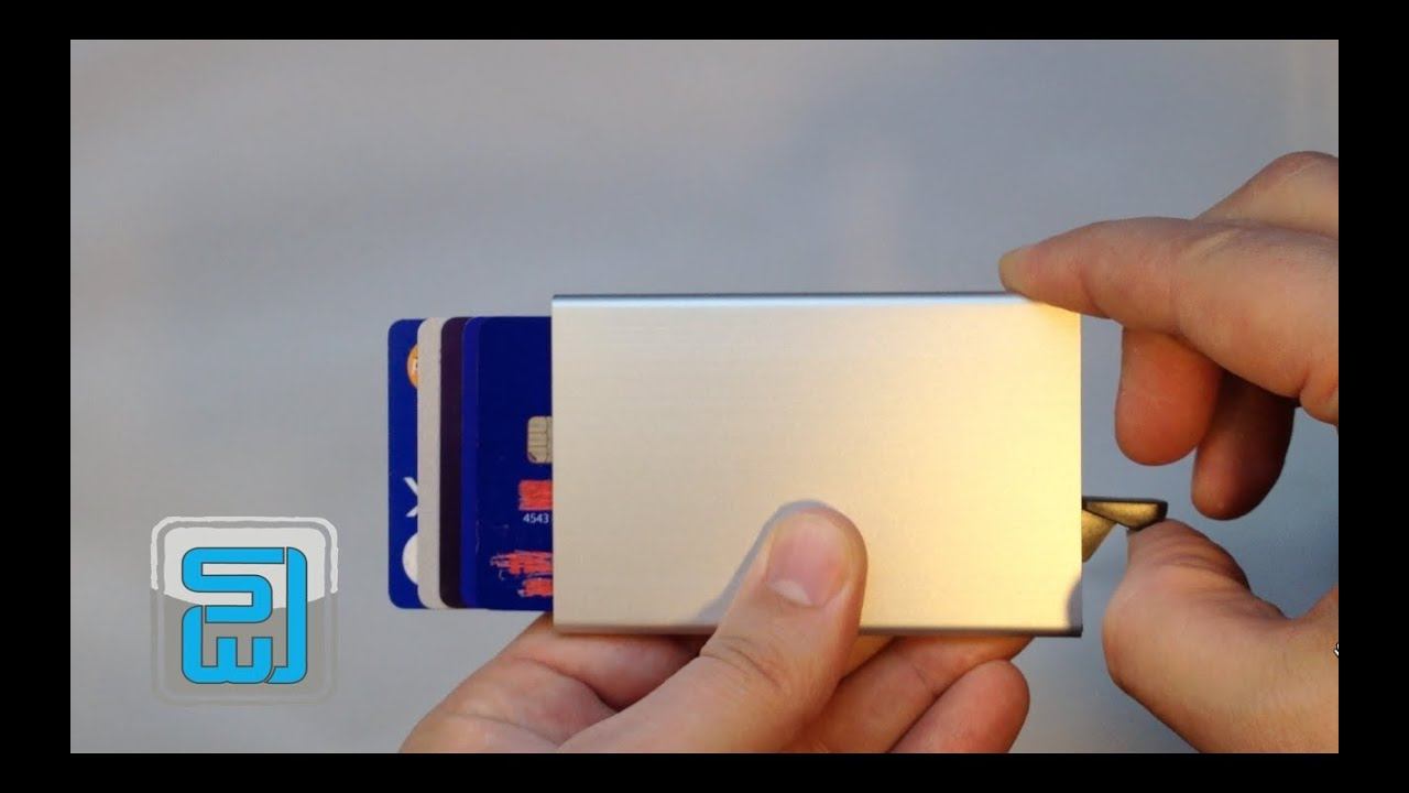 51ec846857d SECRID Card protector review - Slim Wallet Junkie - YouTube