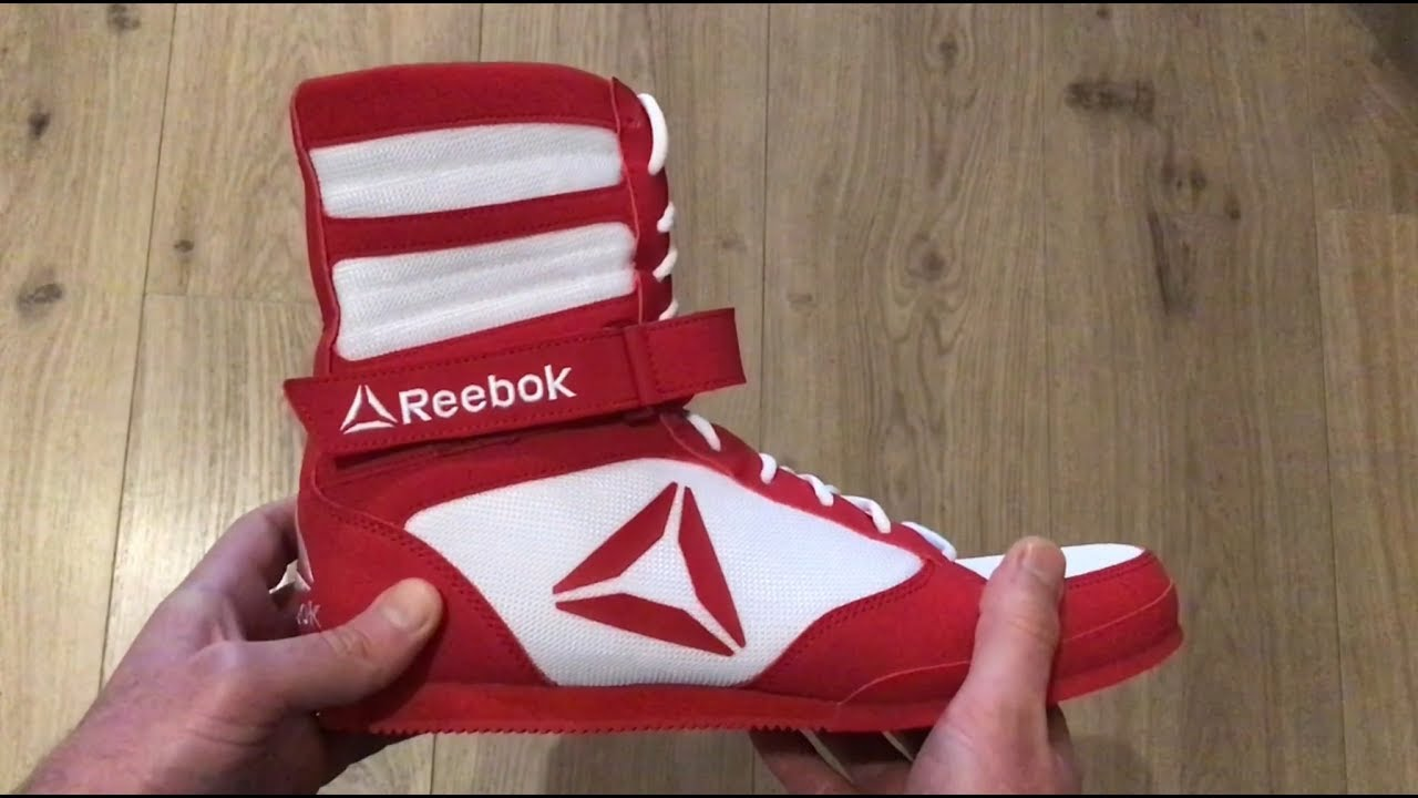 Reebok Boxing Boots Review - YouTube