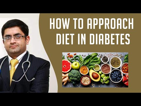How To Approach Diet In Diabetes