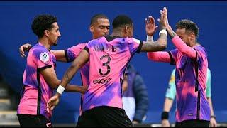 Paris SG 2 1 Lens France Ligue 1 All goals and highlights 01 05 2021