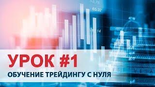Урок #1. Обучение трейдингу с нуля - Сергей Коломиец, трейдер SDG Trade