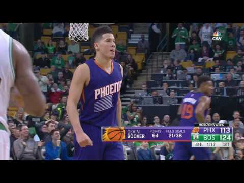 Phoenix Suns vs Boston Celtics | March 24, 2017 | NBA 2016-17 Season