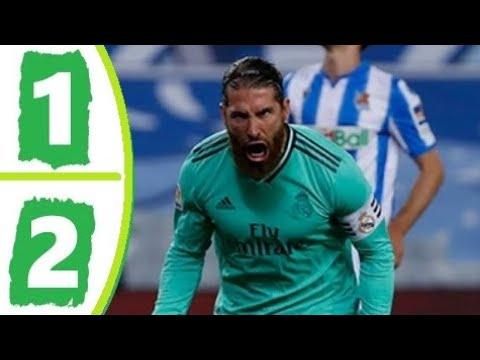 Real Sociedad vs. Real Madrid - Football Match Report - June 21 ...