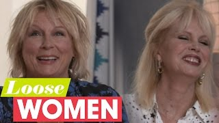 Jennifer Saunders And Joanna Lumley In Stitches At Janet Street-Porter! | Loose Women