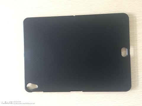 iPad Pro 2018 with Touch ID on the back?