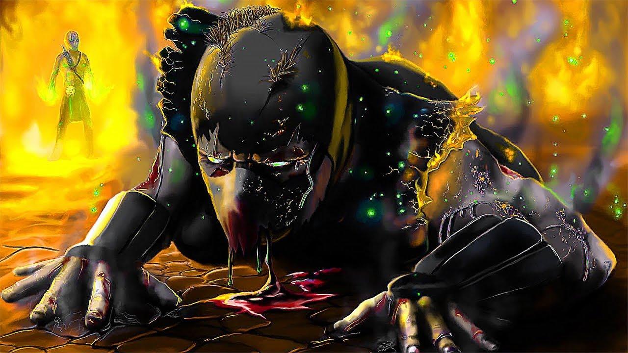 Download Mortal Kombat Noob Saibot Birth Scene (Sub-Zero Rebirth After Scorpion Kills Him)