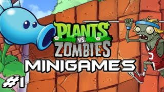 Plants Vs. Zombies - Mini-Games - Part 1 - This is Fun  (HD Let