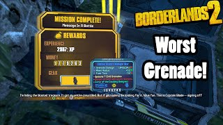 Borderlands 2: The Midnight Star- The WORST grenade in the game