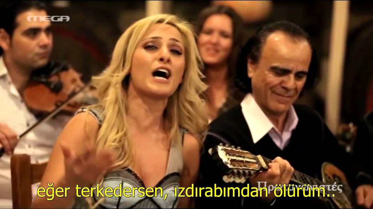 Manolis Aggelopoulos - Ta filia sou fwtia (türkçe altyazı)