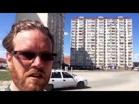 REAL Atyrau Episode 9: Bike Ride on the Outskirts of Town! (Dina bazaar, cemeteries, oil statue)