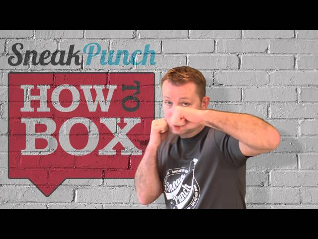 Boxing Hook - Horizontal or Vertical Fist