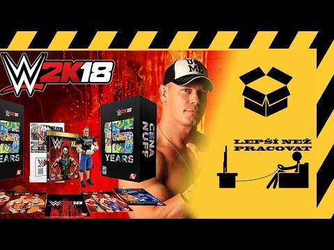 Český unboxing - WWE 2K18 - Collector's Edition
