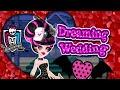 Monster High Draculaura's Dreaming Wedding Dress Up Game for Girls