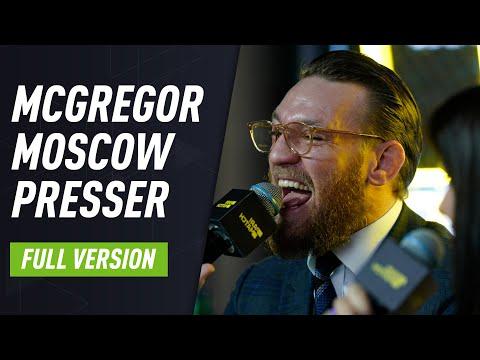 Conor McGregor's Moscow Press Conference