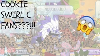 animal jam how many cookie swirl c fans