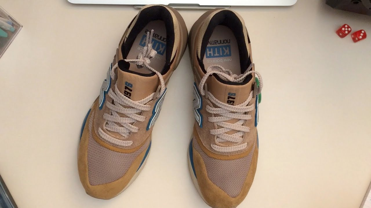 new arrival 13837 79c76 KITH x New Balance x Nonnative 997s Tan / Beige Unboxing