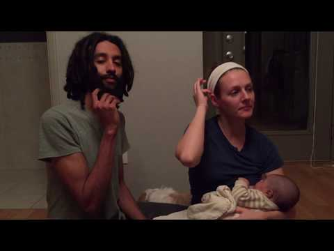 Our Natural Unassisted Home Birth | Natural Gentle Attachment Parenting
