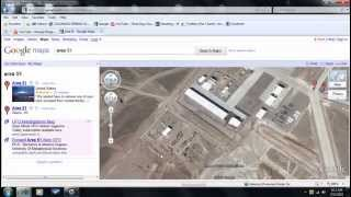 google earth weird things by area 51 ( HD ) Thumbnail