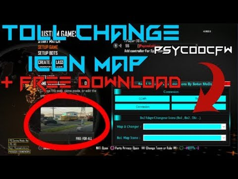 🔵[Bo2] Tool Change Icon image map by Botan Modz +Free Download