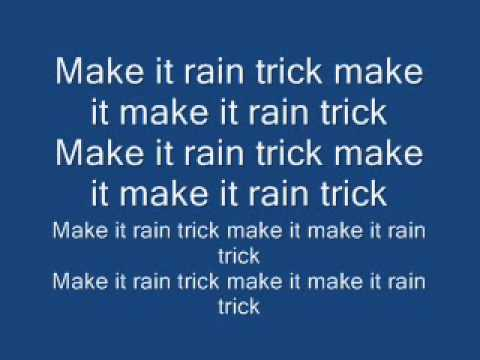 Make it rain travis porter lyrics