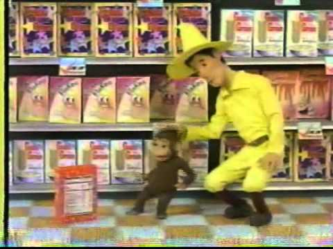 Curious George Checks Out the Label! 1990s commercial