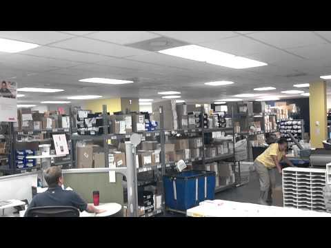East Coast Earthquake Raw Footage August 2011