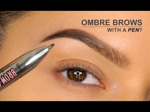 Ombré Brows With A PEN?!! | Benefit Brow Contour Pro Review | Shonagh Scott