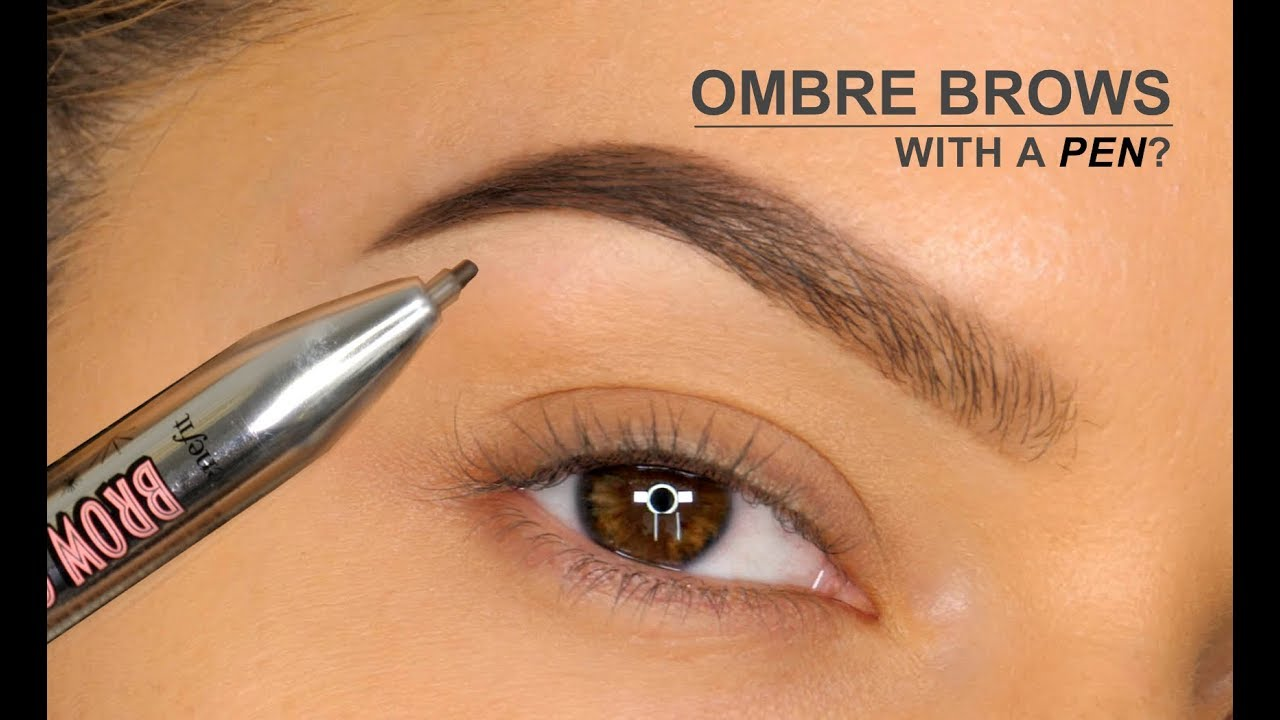 43235169561b4 Ombré Brows With A PEN !!