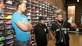 See what a $30K pair of sneakers looks like: Enzo & Cass' SummerSlam Homecoming