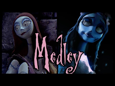 ♪ Sally's Song and Corpse Bride Medley /ORIGINAL LYRICS/ by Trickywi