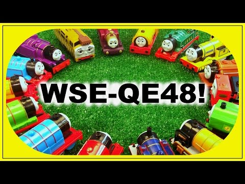 Thomas and Friends - WSE-QE48 ! World's Strongest Engine Quick Edition 48! Trackmaster Competition!