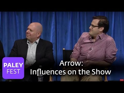 Arrow - Andrew Kreisberg and Marc Guggenheim Talk About What Influenced the Idea for the Show