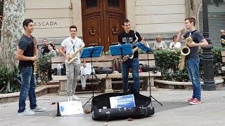 Bohemian Rhapsody - Flat Sax Quartet
