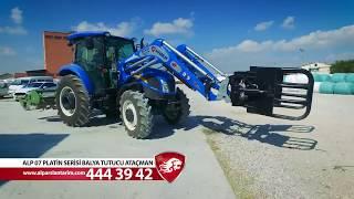 Alp-07 Platin Serisi Traktör Ön Yükleyici Balya Tutucu Ataşmanı