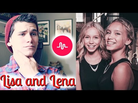 Lisa And Lena Twins Best Musical.ly Compilation - Reaction!