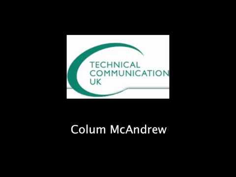 Colum McAndrew - User Assistance and Social Media
