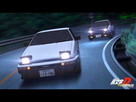 Initial D Final Stage OP - Outsoar the Rainbow - M.O.V.E [FULL]