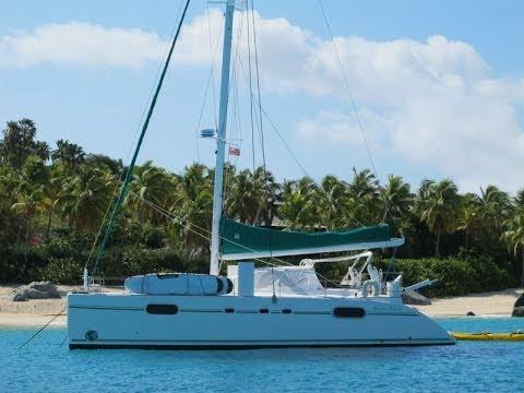Caribbean Catamaran GREEN FLASH. Green Flash Charters - YouTube
