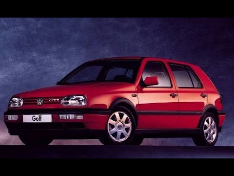 car review 1993 volkswagen golf mk3 1 8 gl automatic. Black Bedroom Furniture Sets. Home Design Ideas