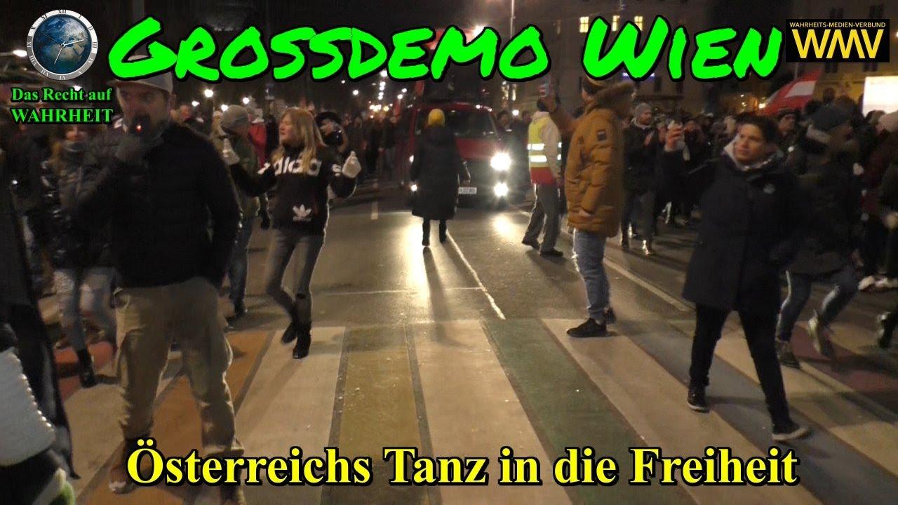 GROSSDEMO WIEN am 16.01.2021: ÖSTERREICHS TANZ in die FREIHEIT