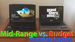 Acer Predator Helios 300 vs Asus X550ZA Review/Comparison (Mid-range vs Budget Gaming Laptop)