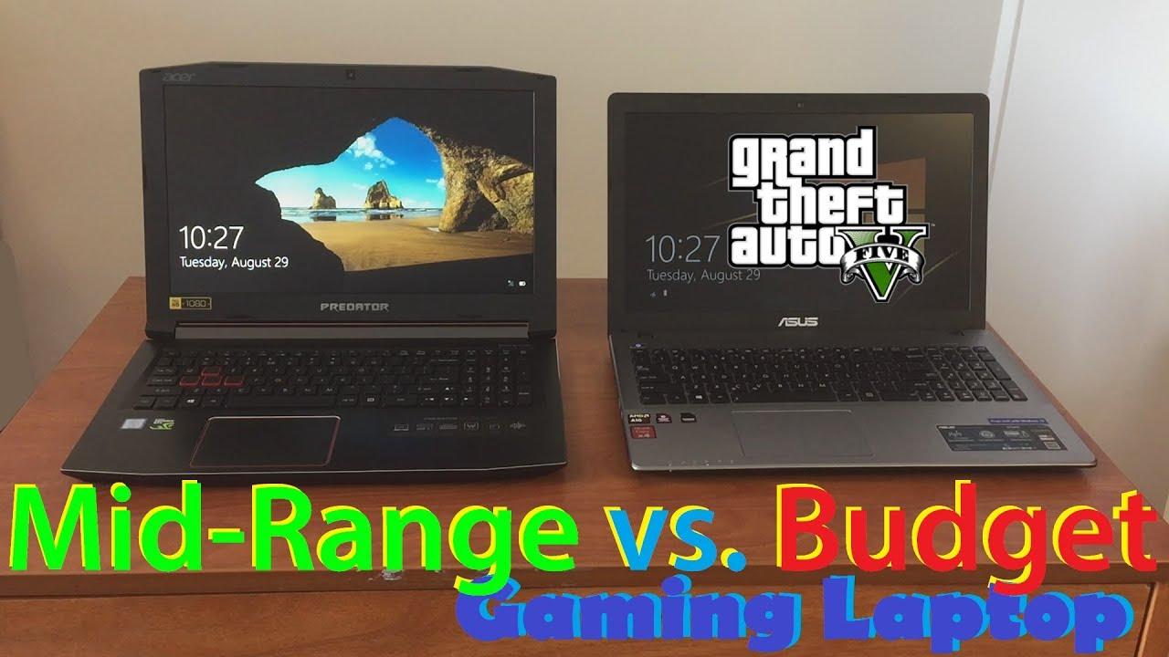 Acer Predator Helios 300 vs Asus X550ZA Review/Comparison (Mid-range vs Budget Gaming Laptop)