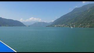 Schifffahrt mit der MS Ossiach - auf dem Ossiacher See (Sommer 2015)