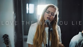 Download lagu Rihanna - Love The Way You Lie (Cover by Dave Winkler & Lorena Kirchhoffer)