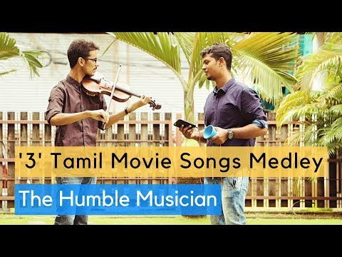 '3' Tamil Movie Songs Medley | Kannazhaga | Nee Partha Vizhigal | Idazhin Oram |