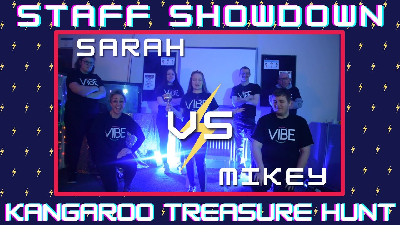 Staff Showdown: Round 3 Kangaroo Treasure Hunt