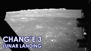 CHANG'E 3 Chinese Moon landing -  Real Speed (2013/12/14)