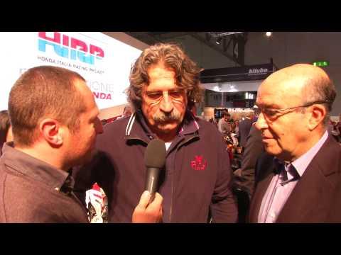 EICMA 2012 - Paolo Simoncelli e Carmelo Ezpeleta
